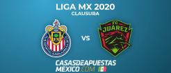Liga MX 2020 Clausura - Guadalajara vs. Juárez - Predicciones de Fútbol