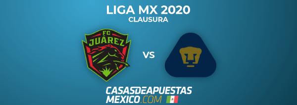 Liga MX 2020 Clausura - FC Juárez vs. Pumas UNAM - Predicciones de Fútbol en la Liga MX