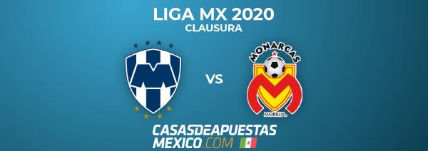 Liga MX 2020 Clausura - Monterrey vs. Morelia - Predicciones de Fútbol en la Liga MX