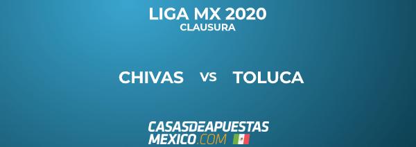 Liga MX - Chivas vs. Toluca - Pronóstico de Fútbol