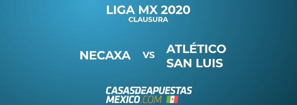 Liga MX 26/01/20 - Necaxa vs. Atlético San Luis - Pronóstico de Fútbol
