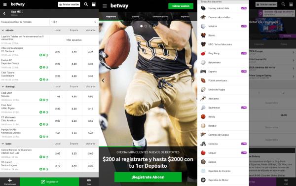 Betway App México - Aplicación Móvil para Android e iOS