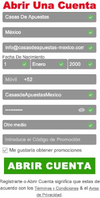 Caliente México - Cómo registrarse en Caliente - Registro Caliente