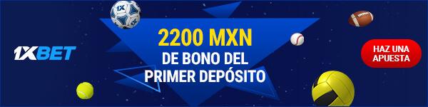 Bono 1xBet Banner - Primer Depósito