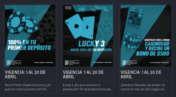 Strendus Casino México - Promociones de Casino