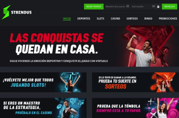 Strendus México - Homepage