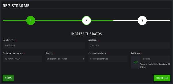 Strendus México - Registro