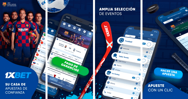 1xBet México App Apuestas Deportivas Android iOS