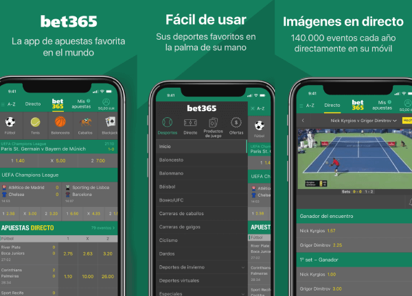Bet365 México App de Apuestas Deportivas para Android e iOS