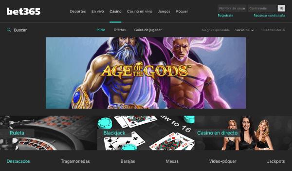 Bet365 México - Casino Promociones