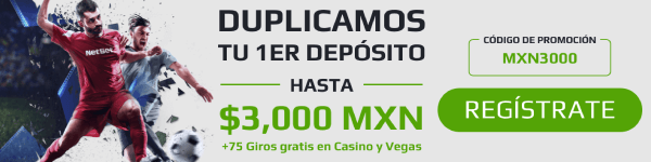 Bono NetBet - 3,000 MXN Bono de Apuestas
