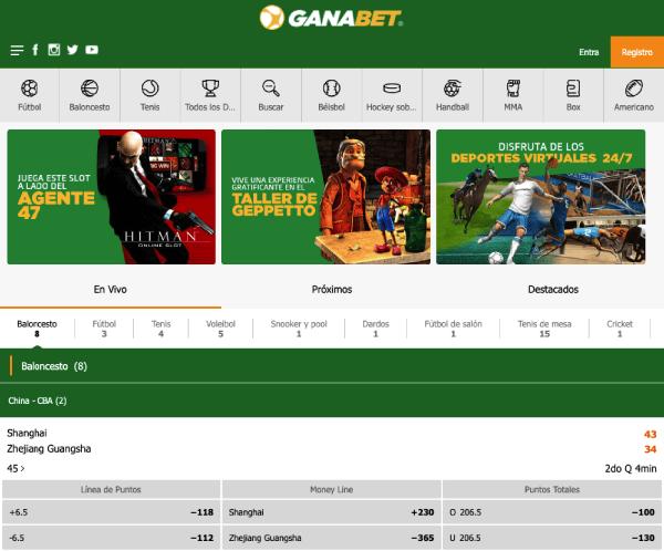 Ganabet México - Opinión Homepage