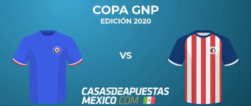 Pronósticos de apuestas - Cruz Azúl vs. Chivas Guadalajara - Final de la Copa GNP - 19/07/20