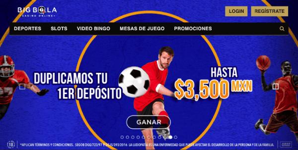 Big Bola México - Reseña de Opinión - Página de Inicio
