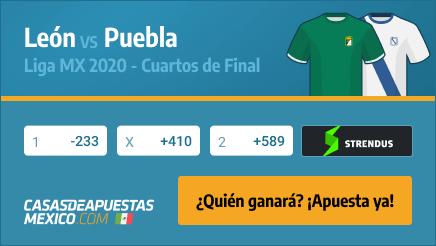 Apuestas León vs. Puebla - Liga MX 28/11/20