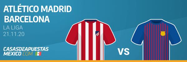 Pronósticos Atlético Madrid vs. Barcelona - LaLiga 21/11/20