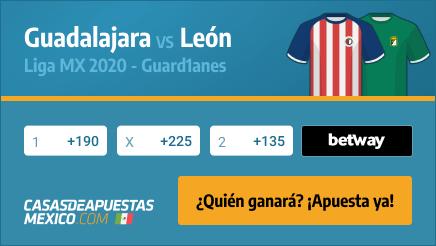 Apuestas Pronósticos Guadalajara vs. León - Liga MX 02/12/20