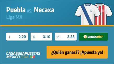 Apuestas Pronósticos Puebla vs. Necaxa - Liga MX 26/02/21