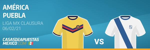 Pronósticos América vs. Puebla - Liga MX 06/02/21