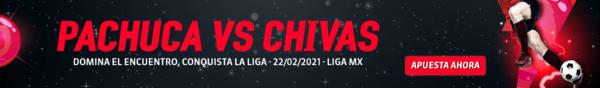 Pronósticos Pachuca vs. Chivas - Liga MX 22/02/21