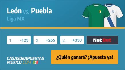 Apuestas Pronósticos León vs. Puebla - Liga MX Apertura 02/03/21