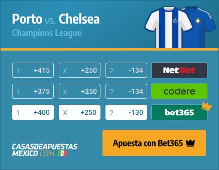 Apuestas Pronósticos Porto vs. Chelsea - Champions League 07/04/21