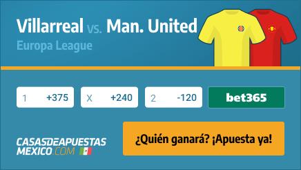 Apuestas Pronósticos Villarreal vs. Man. United - Europa League 26/05/21