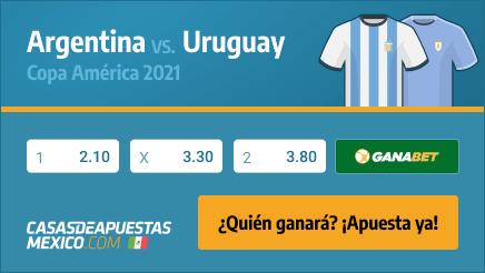 Apuestas Pronósticos Argentina vs. Uruguay - Copa América 2021 18/06/21