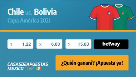 Apuestas Pronósticos Chile vs. Bolivia - Copa América 2021 18/06/21
