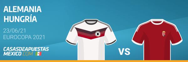 Pronósticos Alemania vs. Hungría 23/06/21 - Eurocopa 2021