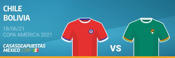 Pronósticos Chile vs. Bolivia - Copa América 2021 18/06/21