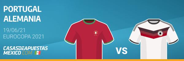 Pronósticos Portugal vs. Alemania - Eurocopa 2021 19/06/21