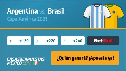 Apuestas y Pronósticos Argentina vs. Brasil - Final de la Copa América 2021 en Casasdeapuestas-mexico.com