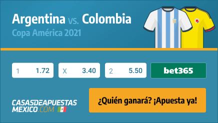 Apuestas Pronósticos Argentina vs. Colombia - Copa América 2021 06/07/21
