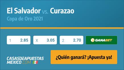 Apuestas y pronósticos - El Salvador vs. Curazao - Copa de Oro 2021 - 10/07/21 Casasdeapuestas-mexico.com