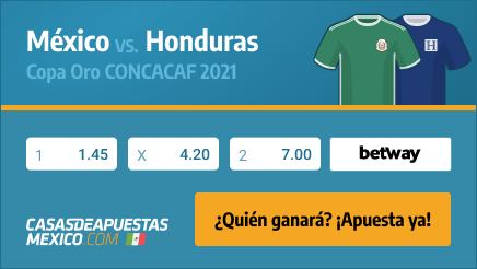 Apuestas Pronósticos México vs. Honduras - Copa Oro CONCACAF 24/07/21